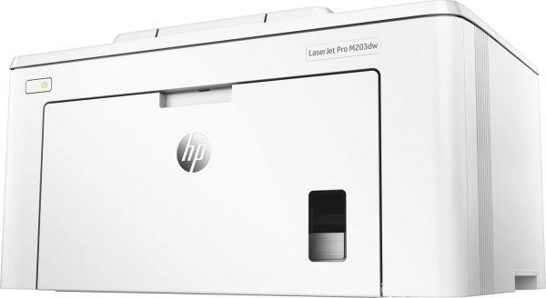 HP LaserJet Pro M203dw_rear